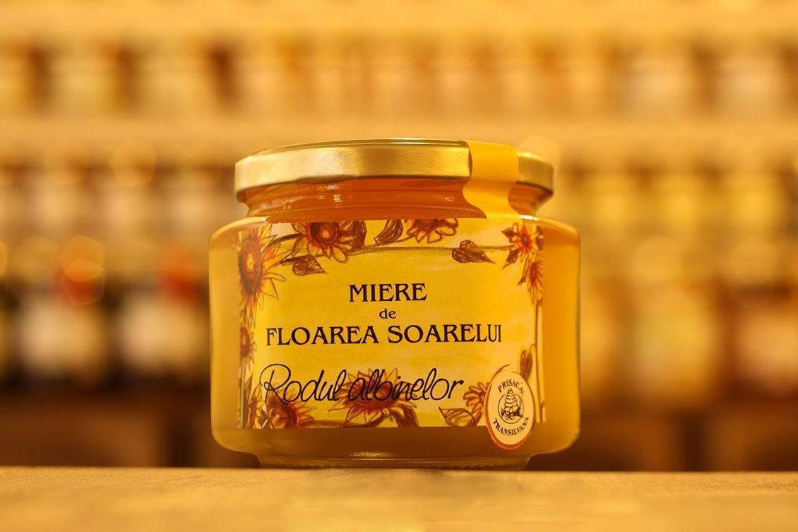 Miere de Floarea Soarelui Prisaca Transilvania - 500 g
