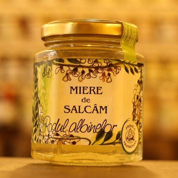 Miere de Salcam Prisaca Transilvania - 250 g