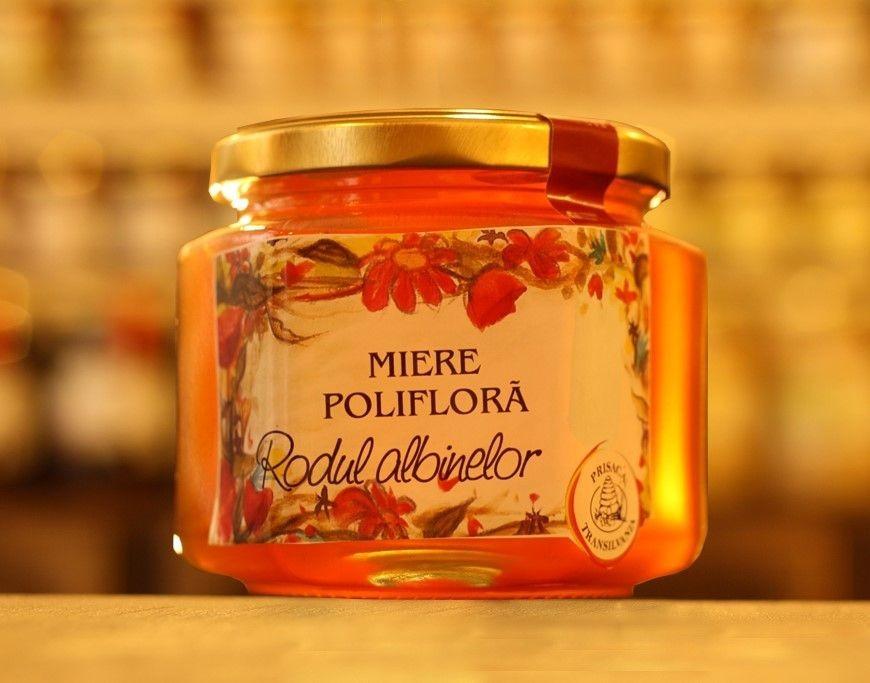 Miere Poliflora Prisaca Transilvania - 500 g