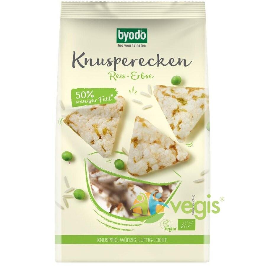 Mini Crackers din Orez si Mazare Fara Gluten Ecologici/Bio 90g