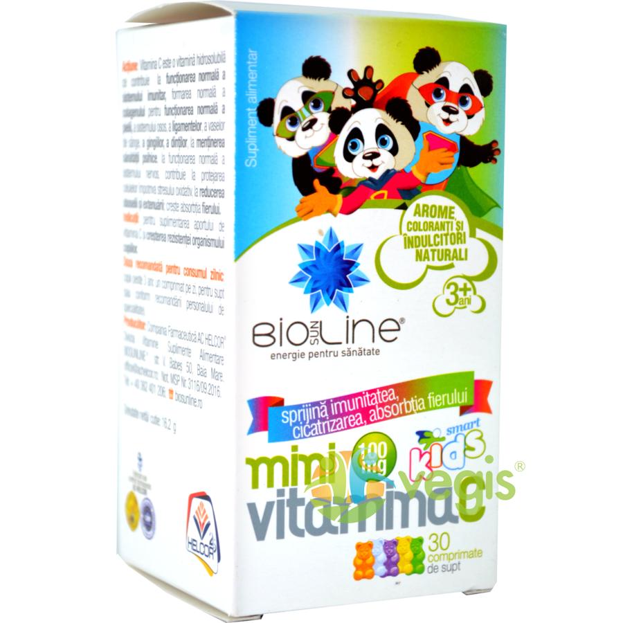 Mini Vitamina C pentru Copii 100mg 30cpr