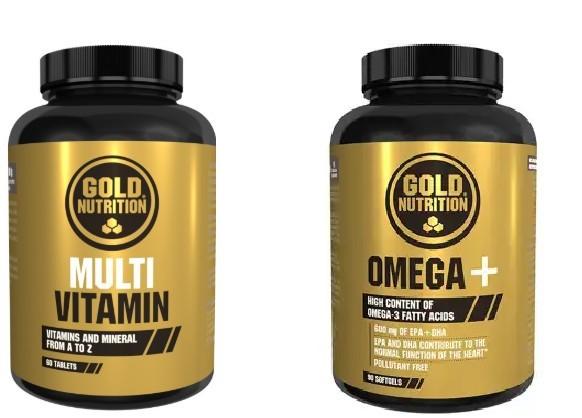Multivitamine, 60cps + Omega 3+, 90 cps