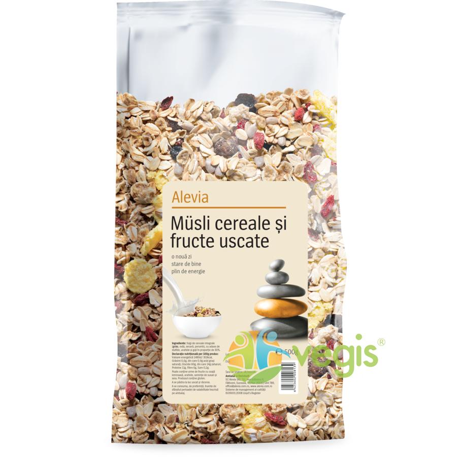 Musli Cereale si Fructe Uscate 500g