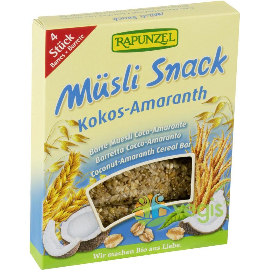 Musli Snack - Batoane cu Cocos si Amarant Ecologice/Bio 4 x 29g