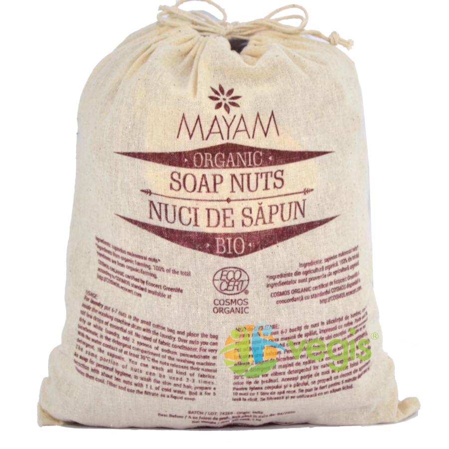 Nuci de Sapun pentru Spalat Rufe Ecologice/Bio 1kg