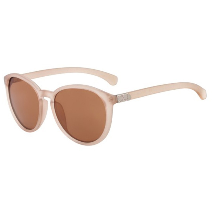 Ochelari de soare Calvin Klein Matte crem J737S/56 femei