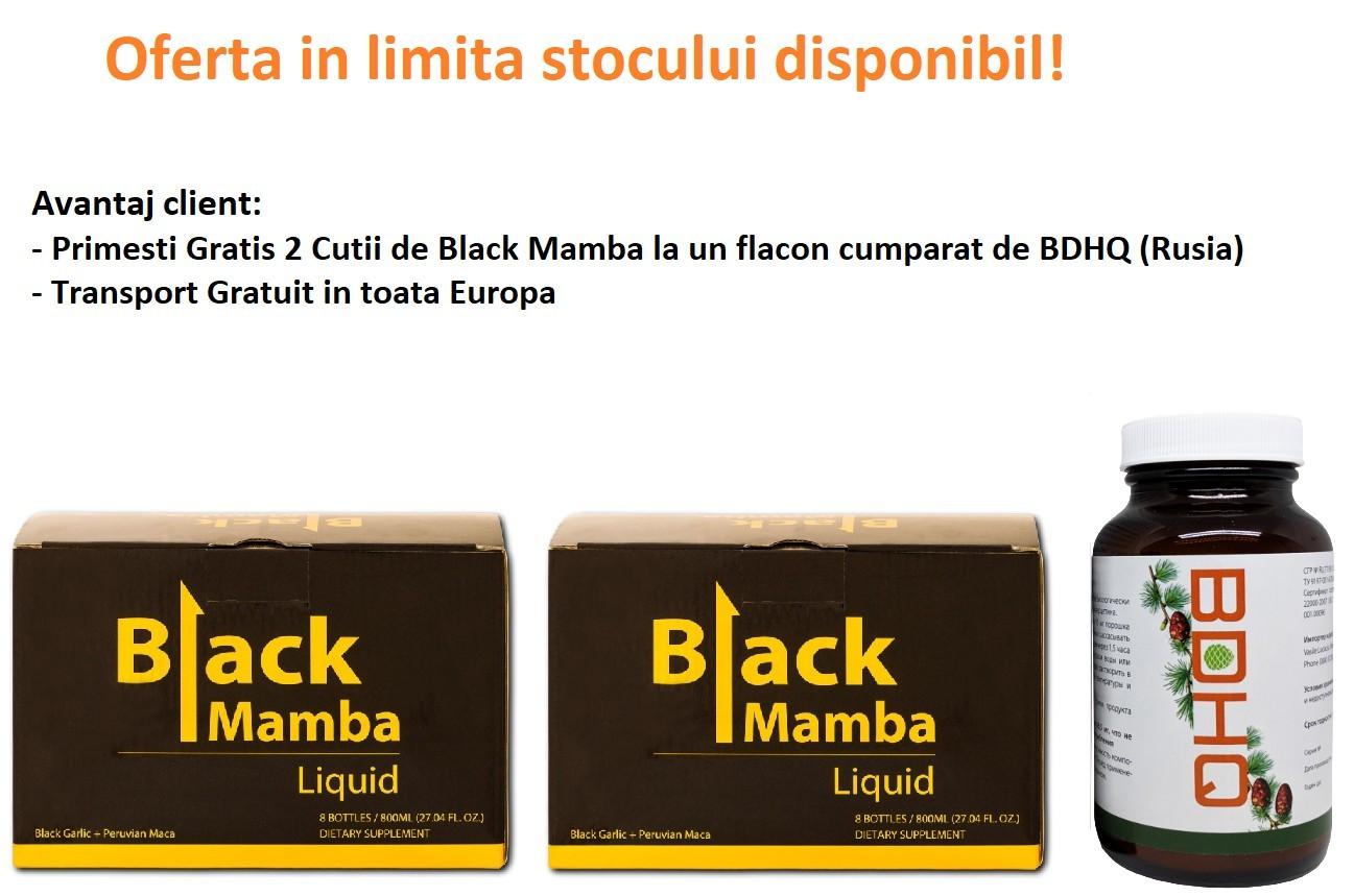 Oferta Black Mamba, 2 cutii Gratis