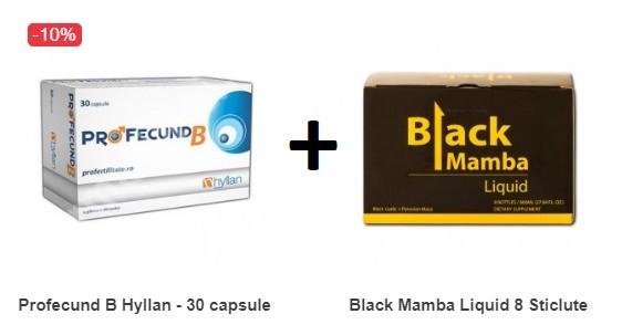 Oferta Profecund pentru Barbati + Black Mamba
