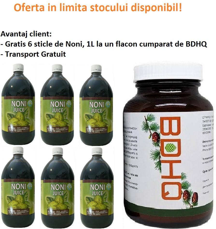 Oferta Suc de Noni, 6 sticle Gratis