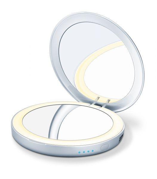 Oglinda cosmetica iluminata, cu baterie externa BS39