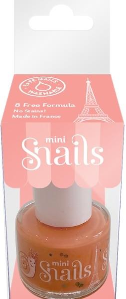 Oja / Lac de unghii mini, pe baza de apa, Ballerine, Snails, pentru copii, 7 ml