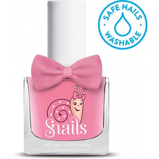 Oja / Lac de unghii pe baza de apa, Pink Bang, Snails, pentru copii, 10.5 ml