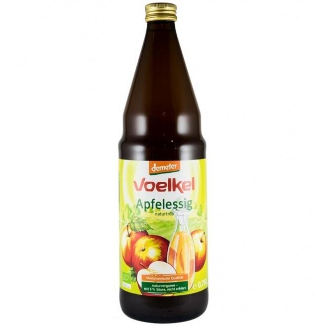 Otet bio de mere, Voelkel, 750 ml