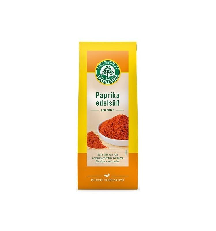 Paprika Dulce Bio, Pulbere, 50 g Lebensbaum