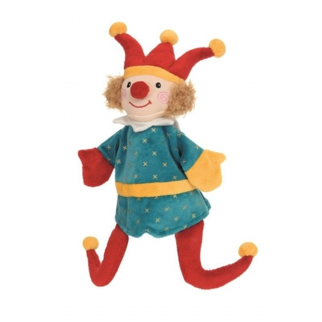Papusa de mana / Marioneta Arlechin, Egmont Toys 6luni+