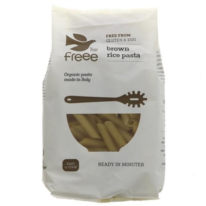 Paste Penne din faina de orez brun, Doves Farm