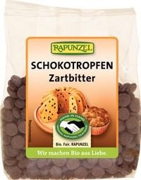 Picaturi de ciocolata amaruie, Rapunzel, 100 g