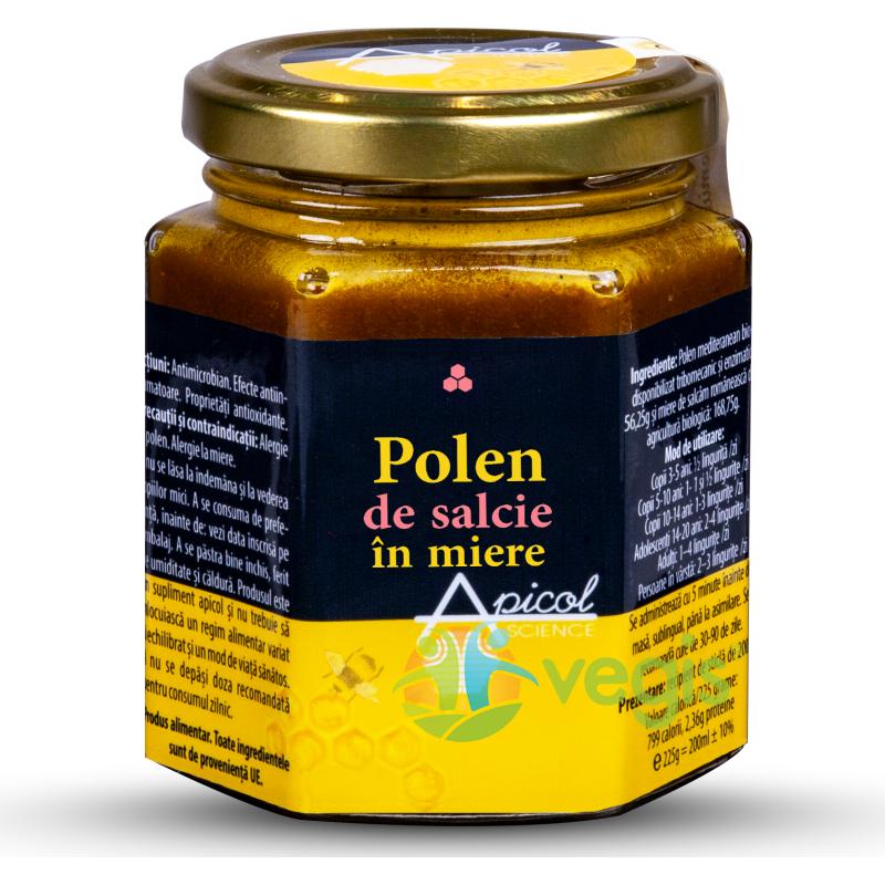 Polen de Salcie in Miere 230g