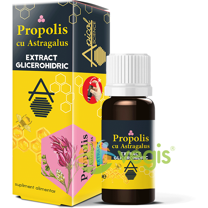 Propolis cu Astragalus Extract Glicerohidric 30ml