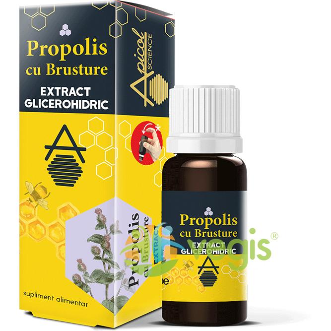 Propolis cu Brusture Extract Glicerohidric 30ml