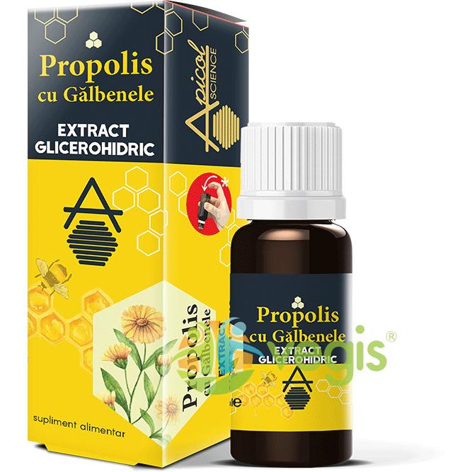Propolis cu Galbenele Extract Glicerohidric 30ml