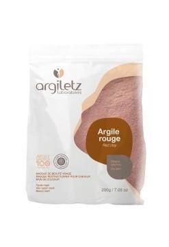 Pudra de argila rosie, ultra-ventilata, pt ten uscat/ fara stralucire, Argiletz 200g