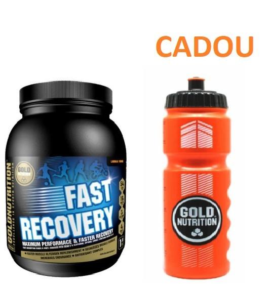 Pudra Proteica, Recovery, Fructul Pasiunii, 1Kg + Recipient Sport, Pentru Apa, 800 ML CADOU