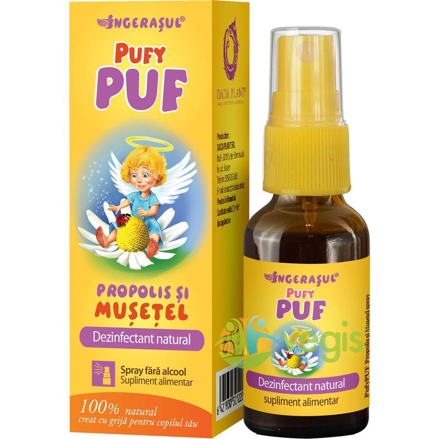 Pufy Puf Ingerasul - Propolis Si Musetel Spray Fara Alcool 20ml