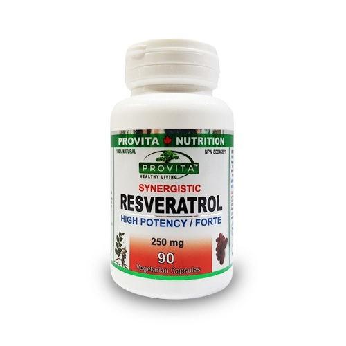 Resveratrol Forte 250mg, 90cps Provita