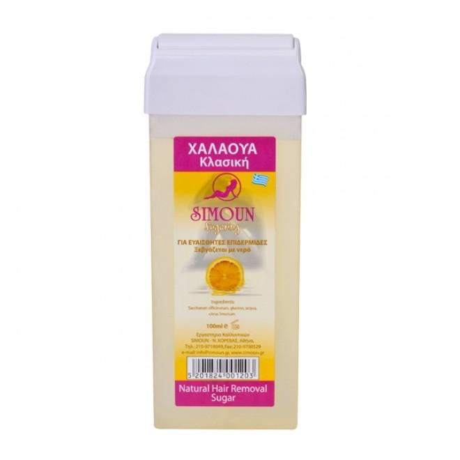 Roll-on Ceara depilatoare naturala de zahar, Simoun 100 g