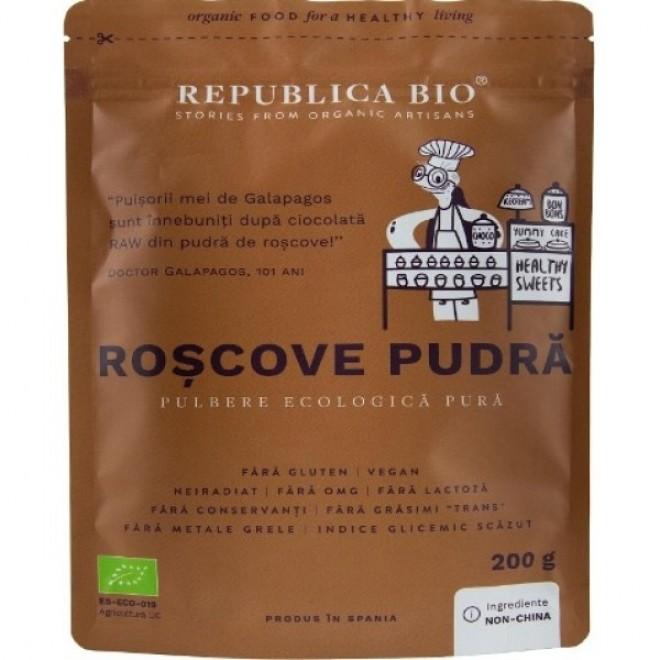 Roscove pudra bio, Republica Bio, 200 g