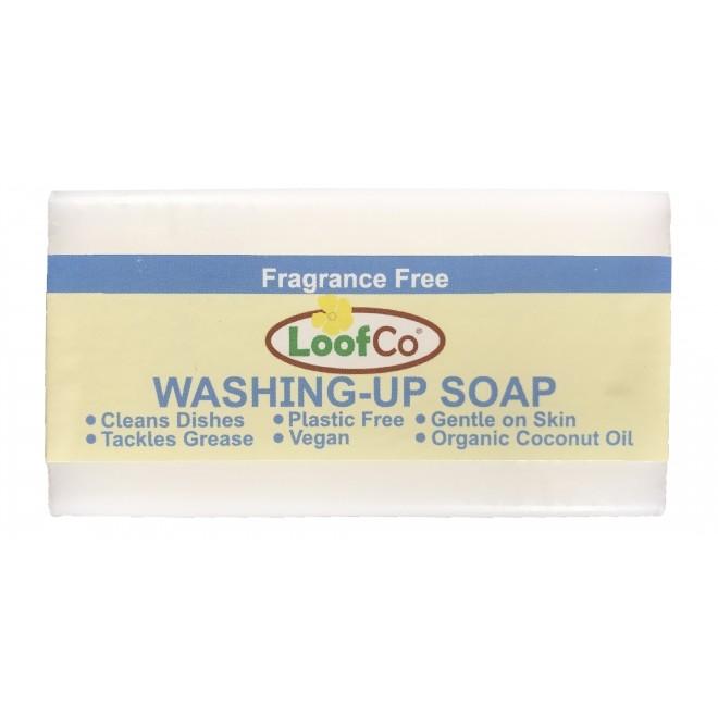 Sapun solid pentru spalat vase si maini, fara miros, zero plastic, LoofCo, 100 g