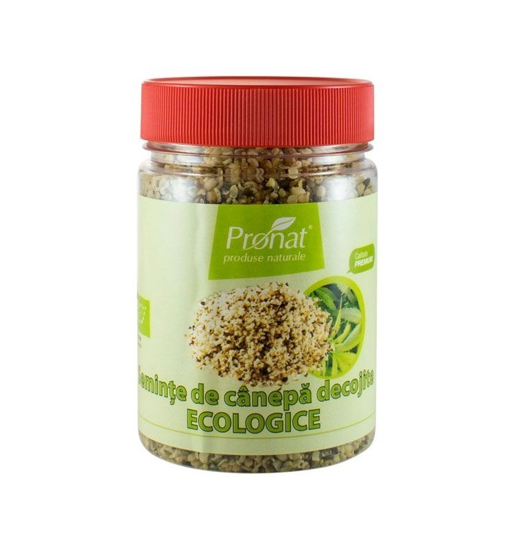 Seminte de Canepa Decojite Bio Pronat -  150 g
