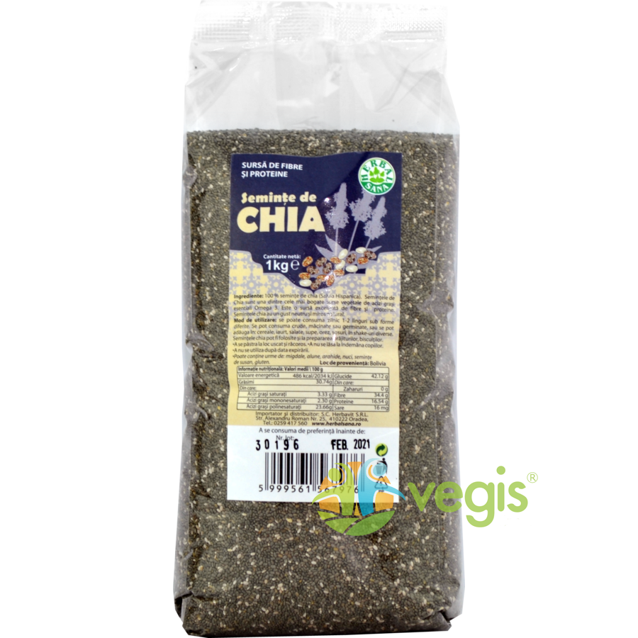 Seminte de Chia 1kg