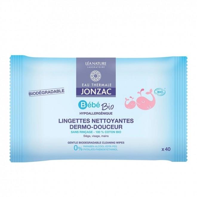 Servetele delicate pt bebelusi, Jonzac, cu apa termala, 40 buc
