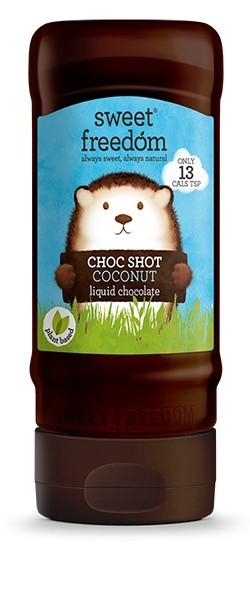 Sirop de ciocolata Sweet Freedom, Choc Shot Cocos, 320 g