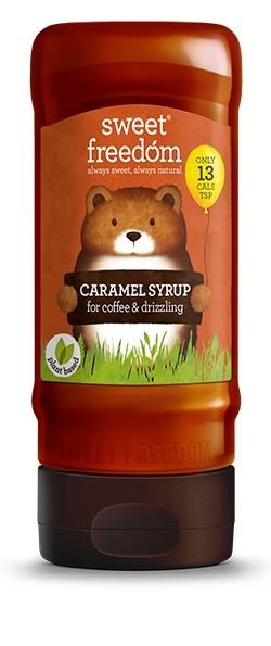 Sirop / Indulcitor de caramel, Sweet Freedom, pt. bauturi pe baza de cafea si prajituri 350 g