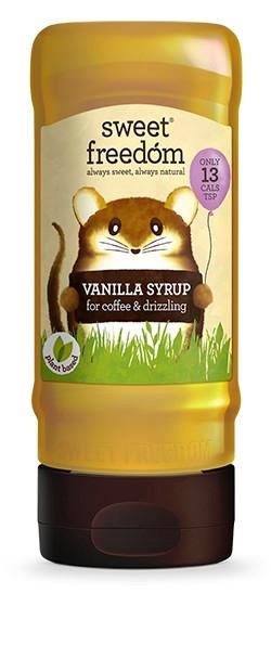 Sirop / Indulcitor de vanilie, Sweet Freedom, pt. bauturi pe baza de cafea si prajituri 350 g