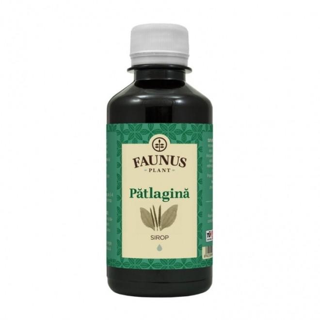 Sirop Patlagina, expectorant, emolient, antispastic bronsic, Faunus Plant, 200 ml