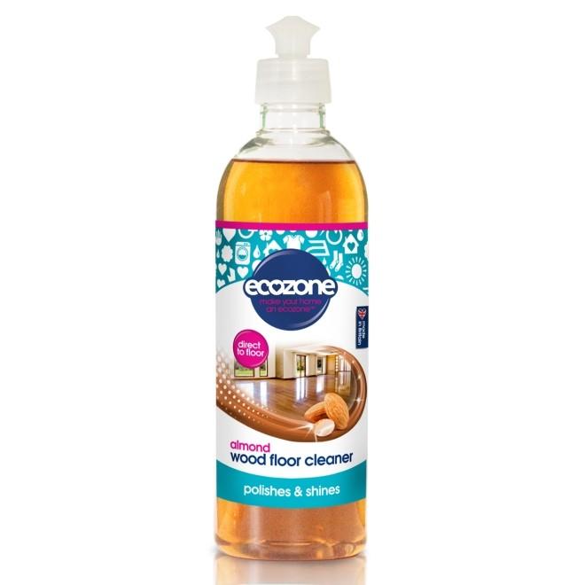 Solutie cu migdale, pentru curatat parchet si podele din lemn, Ecozone, 500 ml