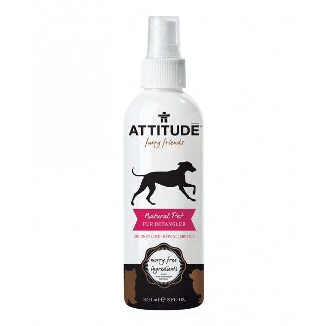 Solutie naturala pentru descalcirea latelor, Attitude, 240 ml