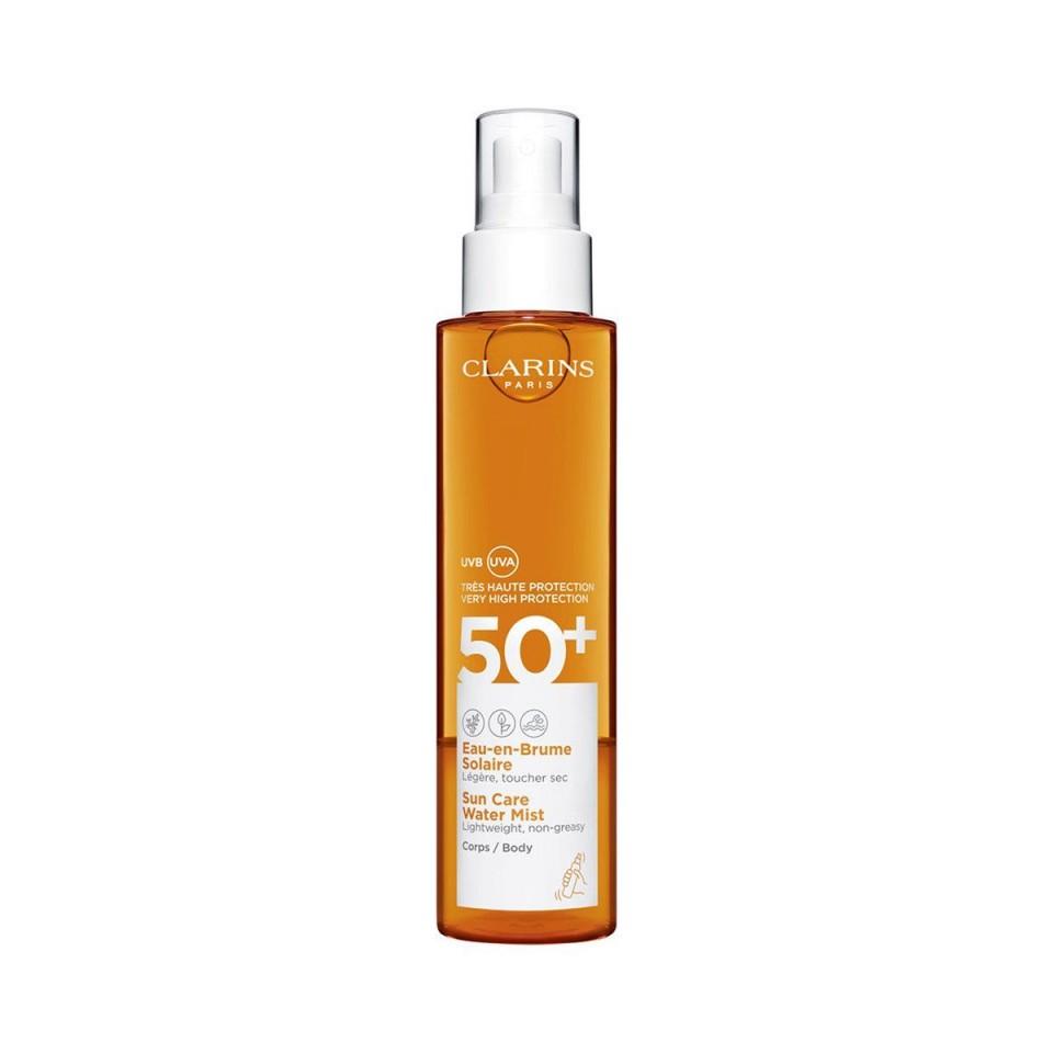 Spray de corp Clarins Sun Care Water Mist 50SPF