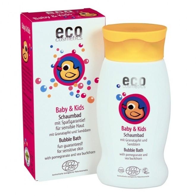 Spumant bio pentru baita cu rodie si catina alba, Eco Cosmetics, 200 ml