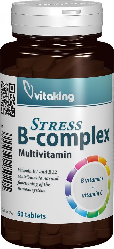 Stress B-complex, 60 cpr
