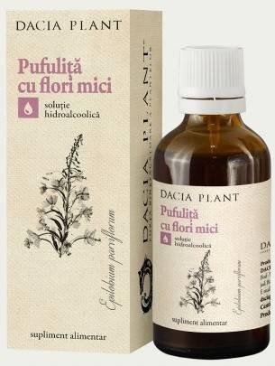 TINCTURA DE PUFULITA CU FLORI MICI 50ML
