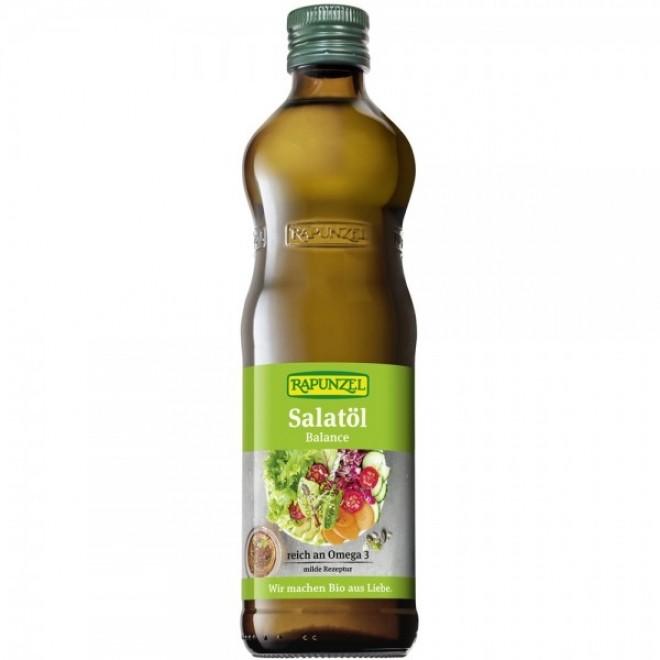 Ulei bio pentru salata, Rapunzel, 500 ml