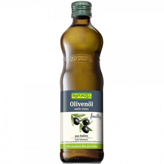 Ulei de masline extravirgin bio, Rapunzel, 500 ml