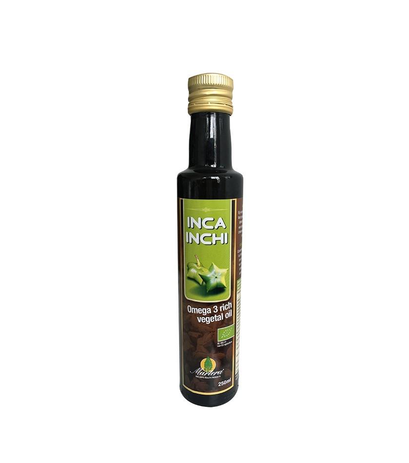 Ulei Vegetal, INCA INCHI, bogat in Omega 3, 100% Pur, 250 ML