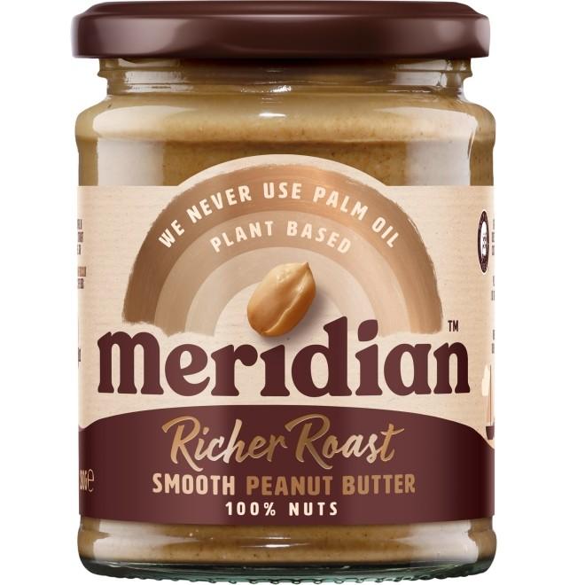 Unt de arahide fin, Meridian, 280 g