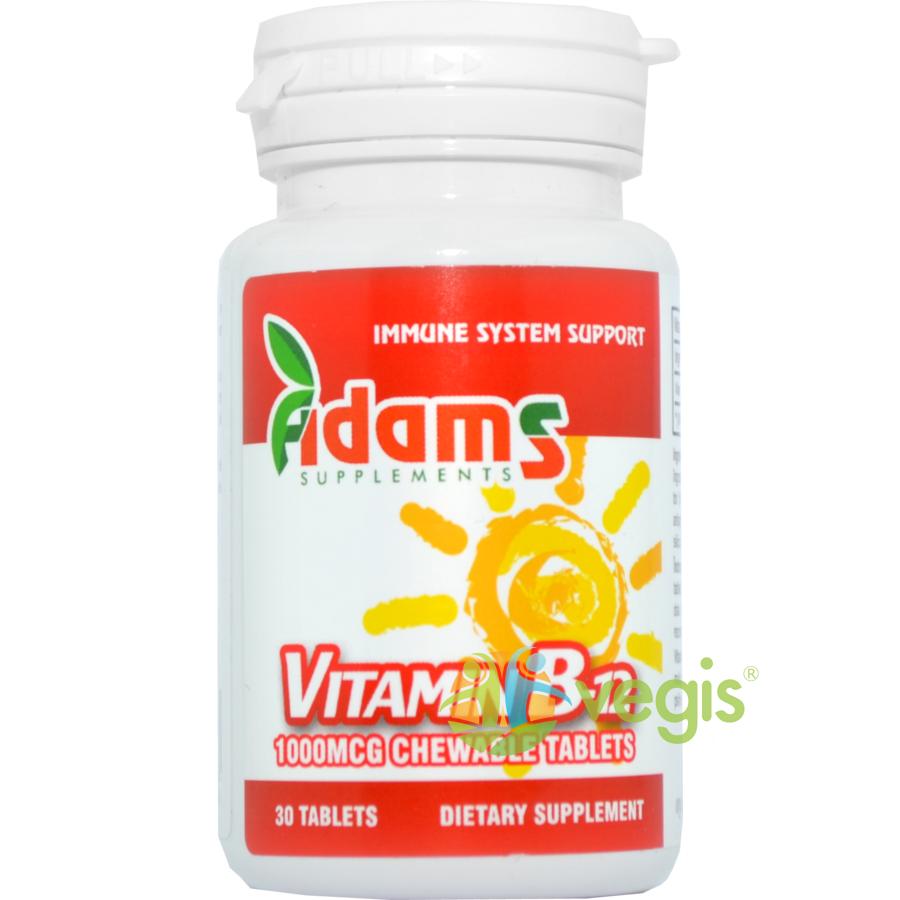 Vitamina B12 1000mcg 30tb masticabile